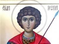 В кафедральный собор прибывает икона с мощами святого великомученика Георгия Победоносца