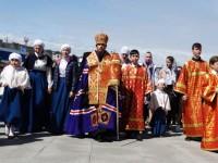 Детская Литургия и Крестный ход, приуроченные ко  Дню славянской письменности и культуры
