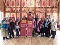 В Свято-Никольском храме п. Палана встретили престольный праздник