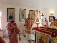 Божественная Литургия в Свято-Троицком храме г. Елизово