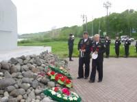Митинг, посвященный 36 годовщине со дня гибели экипажа атомной подводной лодки «К-429»