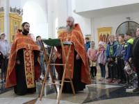 В Духовно-просветительском центре начал работать детский лагерь «Росинка»