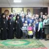 Молебен в общине Святого Духа