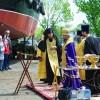 Освящение кораблей на Вилючинской верфи