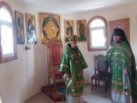 Божественная литургия в храме великомученика и целителя Пантелеимона