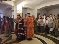 Божественная литургия в праздник Рождества Иоанна Предтечи