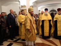 Престольный  праздник строящегося Морского собора