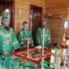 Архиепископ Феодор совершил поездку в Карагинский район. Престольный праздник храма в честь преподобного Максима Грека