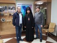 Архиепископ Феодор встретился с автором книги о святителе Иннокентии — Алексеем  Сергеевичем Чертковым