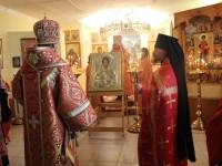 Архиепископ Феодор совершил утреню в канун праздника великомученика и целителя Пантелеимона
