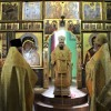Литургия в храме святых апостолов Петра и Павла