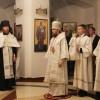 Архиепископ Петропавловский и Камчатский Феодор совершил всенощное бдение в нижнем храме Морского собора
