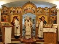 Божественная литургия в Морском соборе