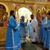 Архиепископ Феодор возглавил воскресную Божественную литургию в кафедральном соборе