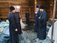 Управляющий Камчатской епархией посетил строящиеся храмы Петропавловска