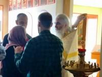 В День трезвости в храме Всемилостивого Спаса при центре медреабилитации молились о страждущих недугами винопития и наркомании