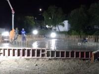 На строительстве гарнизонного храма в честь апостола Андрея Первозванного в п. Рыбачий залита плита основания