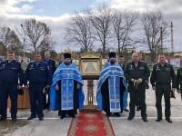 Главная икона ВДВ России была доставлена в п. Ключи