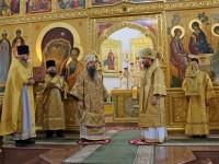 Божественная литургия в день Сретения Владимирской иконы Пресвятой Богородицы