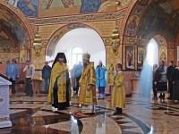 Всенощное бдение в Морском соборе в канун праздника святых благоверных князей Петра и Февронии Муромских