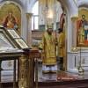В воскресный день, в Неделю 13-ю по Пятидесятнице, Управляющий епархией совершил Литургию в Морском соборе
