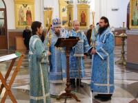 Архиепископ Феодор возглавил Параклисис Божией Матери в кафедральном соборе