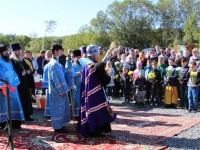 Открытие воскресной школы при храме прп. Сергия Радонежского