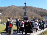 Священнослужители епархии приняли участие в торжественном митинге, посвященном Дню памяти моряков и рыбаков