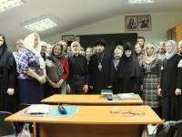 Архиепископ Феодор встретился с преподавателями и учащимися Катехизаторских курсов