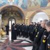 Кадеты Владивостокского Нахимовского военно-морского училища  посетили Морской Собор