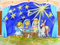 Краевой конкурс изобразительного искусства и декоративно-прикладного творчества «Под Рождественской звездой»