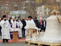 Освящение колоколов Морского собора