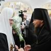 Архиепископ Феодор поздравил Святейшего Патриарха Кирилла с Днем рождения, с 50-летием монашеского пострига и рукоположения в священный сан