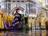 Управляющий Камчатской епархией принял участие в Литургии, возглавляемой Предстоятелями Иерусалимской и Русской Православных Церквей