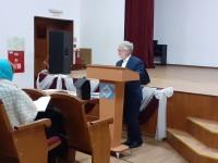 Беседа профессора кафедры Библеистики МДА В. Я. Саврей «Как спастись в современном мире по учению святых отцов Церкви»