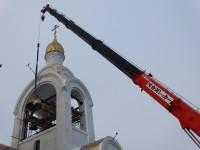 Установлены колокола на звоннице Морского собора