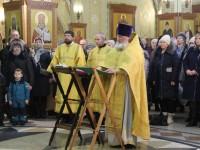 В Кафедральном соборе был отслужен молебен о семейном благополучии