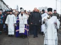 Крестный ход в праздник Рождества Христова