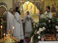 Архиепископ Феодор возглавил воскресное богослужение в Кафедральном соборе