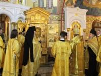 Главная икона Вооруженных сил России доставлена в Морской собор