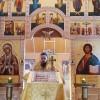 Божественная литургия в скиту во имя Всех Святых