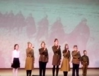 Праздничный концерт ко Дню защитника Отечества в Духовно-просветительском центре