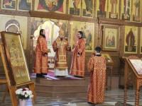 Божественная Литургия в праздник Собора новомучеников и исповедников Церкви Русской