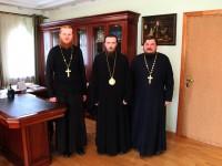 Состоялась встреча правящего архиерея со священником-миссионером из Паланы