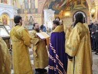 В Камчатском Морском соборе совершен молебен перед главной иконой ВМФ России
