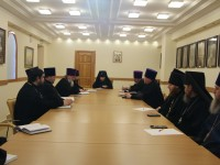 Состоялась встреча Епархиального совета