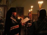 В первые дни Великого поста Архиепископ Феодор совершил повечерие с чтением Великого канона прп. Андрея Критского в Кафедральном и Морском соборе