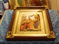 В праздник Благовещения Пресвятой Богородицы Управляющий епархией совершил ночную Литургию в Морском соборе