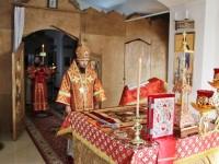 В праздник Иверской иконы Божией Матери Управляющий епархией совершил Литургию в Морском соборе