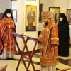 Управляющий епархией совершил молебен от морового поветрия